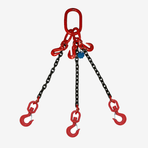 3&4 Legs Lifting Chain Sling - Swivel Hook - G80