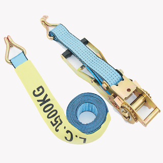 Cargo Lashing Strap with Ergo Long Ratchet 50mm 5000KG
